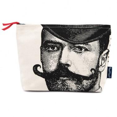 A Dashing Gentleman cosmetic bag
