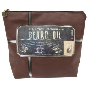 Apothecary Beard cosmetic bag