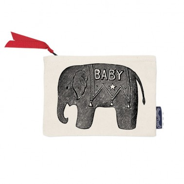 Baby Elephant wallet/cosmetic bag