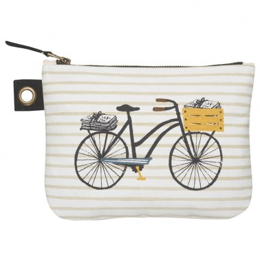 Bicicletta cosmetic bag