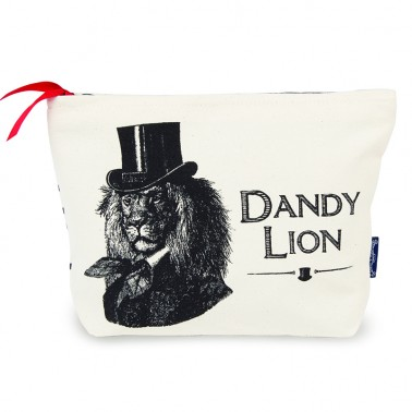 Dandy Lion cosmetic bag