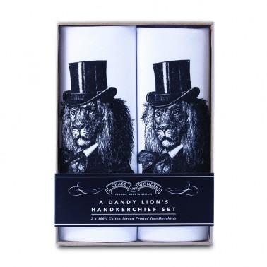 Dandy Lion handkerchief set