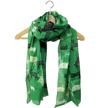 Heritage & Harlequin Deer scarf