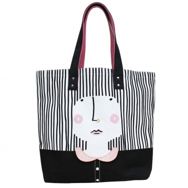 Over the Moon Girl shopper bag
