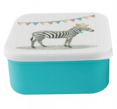Party Animals Zebra lunch box