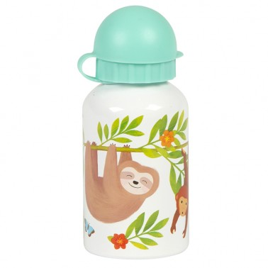 Sloth and Friends water bottle
