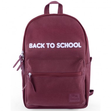 UNI Burgundy school backpack