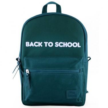 UNI Green school backpack