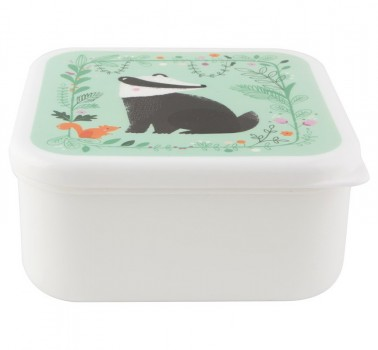 Woodland Friends Badger lunch box