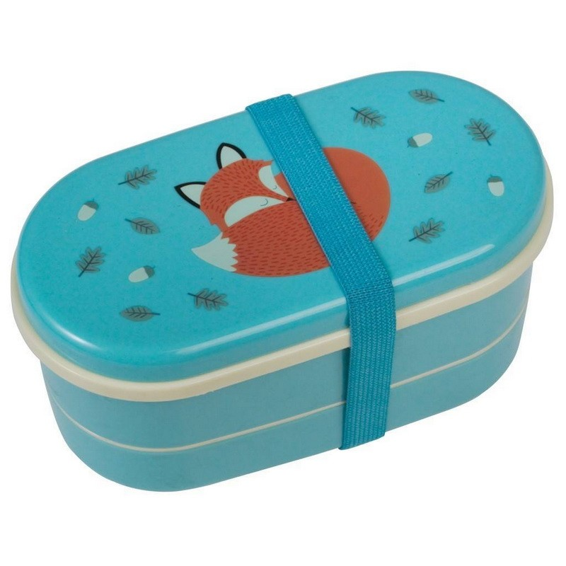 rusty the fox bento lunch box. Black Bedroom Furniture Sets. Home Design Ideas