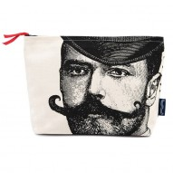 A Dashing Gentleman cosmetic bag