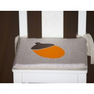 Acorn child's chair cushion