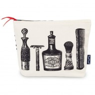 Aftershave cosmetic bag