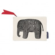 Baby Elephant wallet/cosmetic bag