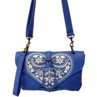 China Blue mini bag