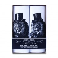 Dandy Lion handkerchief set