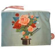Florilege universal pouch-cosmetic bag