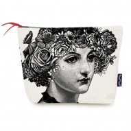 Flower Lady cosmetic bag