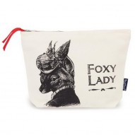 Foxy Lady cosmetic bag
