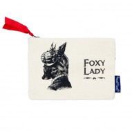 Foxy Lady wallet/cosmetic bag