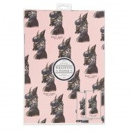 Foxy Lady gift wrap set
