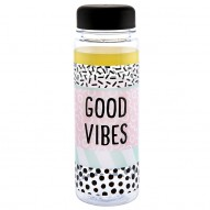 Good Vibes water bottle