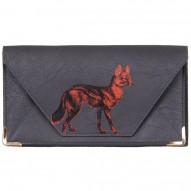 Heritage & Harlequin Fox travel wallet