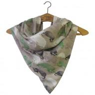 Heritage & Harlequin Hedgehog scarf