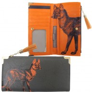 Heritage & Harlequin Fox wallet