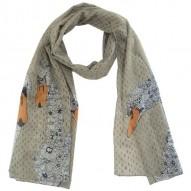Hola Swan Grey scarf