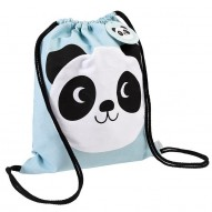 Miko the Panda drawstring backpack