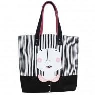 Over the Moon Girl shopper bag