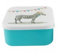 Party Animals Zebra lunch box