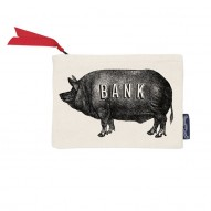 Piggy Bank wallet/cosmetic bag