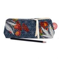 Sashiko pencil case