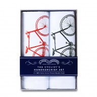 Cyclist handkerchief set