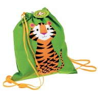 Tiger drawstring backpack