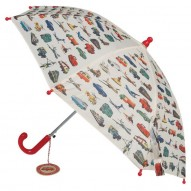 Vintage Transport children's umbrella