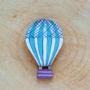 Blue Balloon brooch