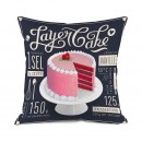 Layer cake large cushion