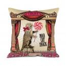 Mad Cat small cushion