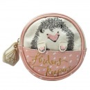 Over the Moon Hedgehog cosmetic bag