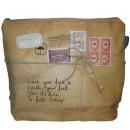 Paper Plane cosmetic bag