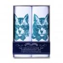 Sophisticated Cat handkerchief set