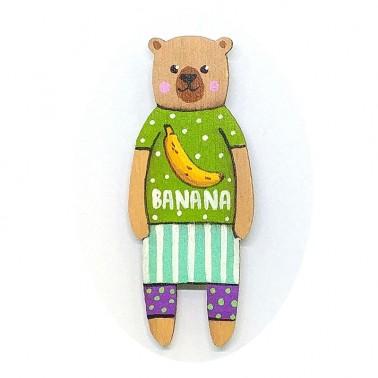 Banana T-shirt Bear sagė