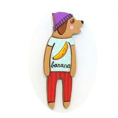 Banana T-shirt Doggy sagė