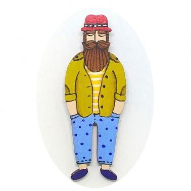 Blue Pants Hipster sagė