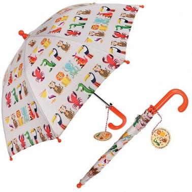 Colourful Creatures vaikiškas skėtis