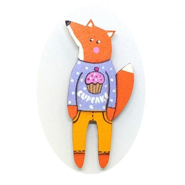 Cupcake Jumper Fox sagė
