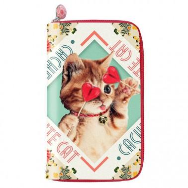 Cute Cat piniginė